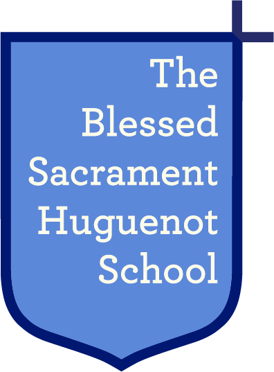 Blessed Sacrement Huguenot Catholic Shool logo